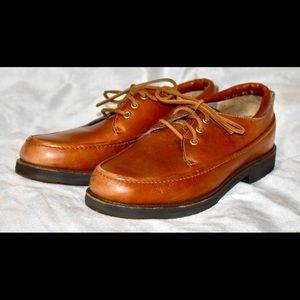 ASOLO men's 8.5 vibram sole shoes.